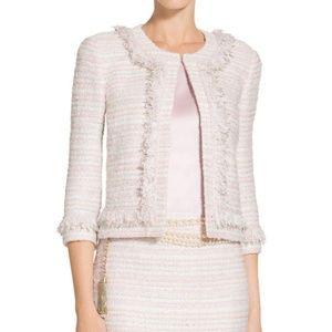 St. John Padmesh Pastel Petal Tweed Jacket K62M001
